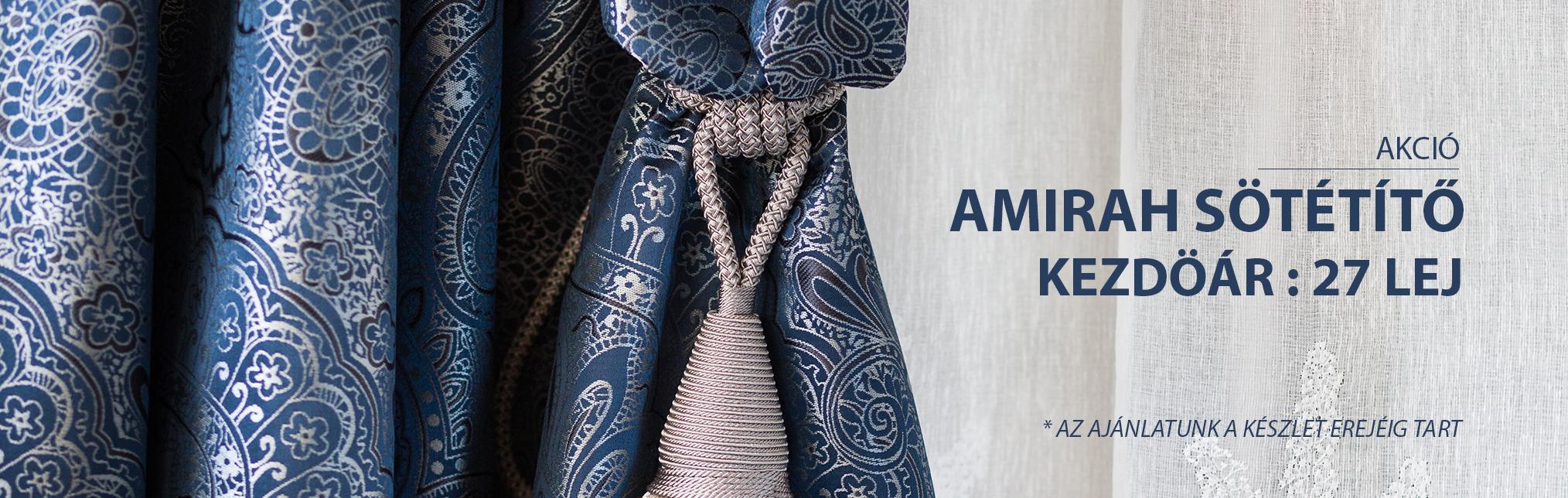 AMIRAH SÖTÉTÍTŐ - AKCIÓ KEZDÖÁR 27 LEJ