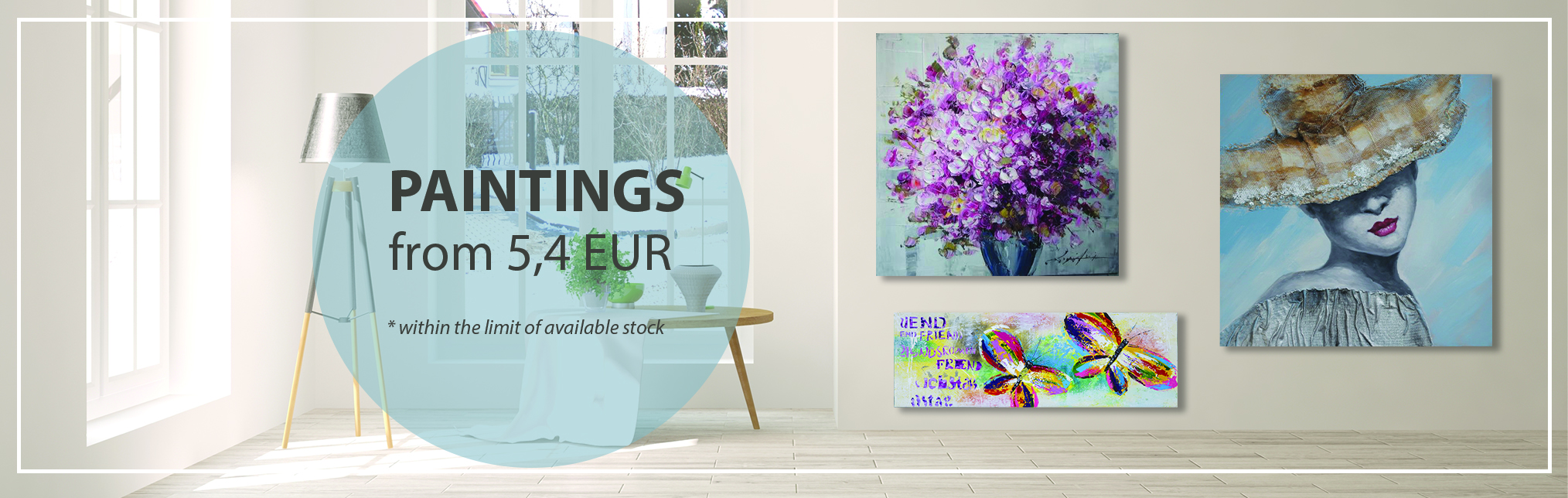 August Promotion - Paintings