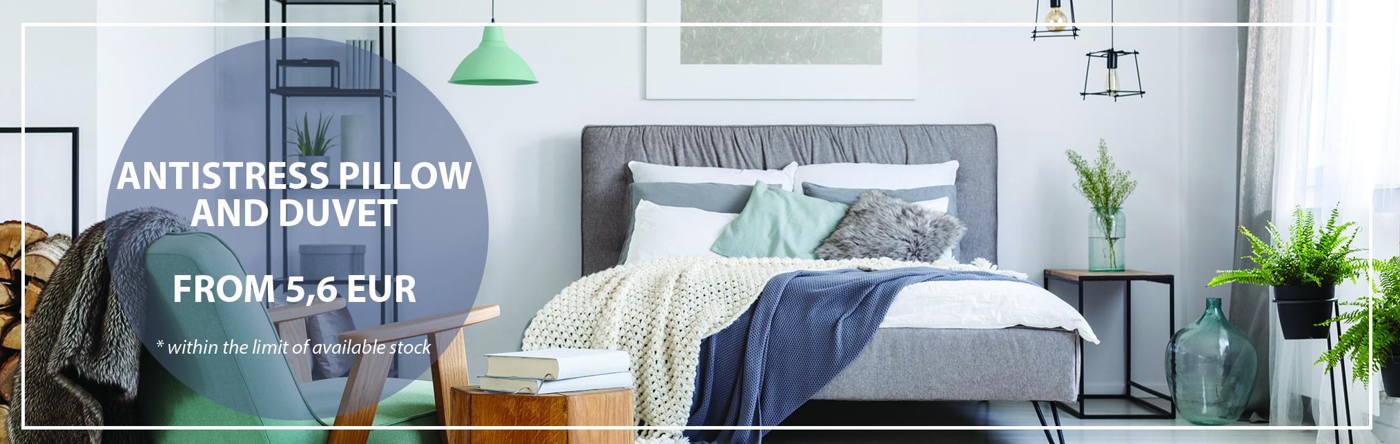 August Promotion - Antistress Pillow and Duvet