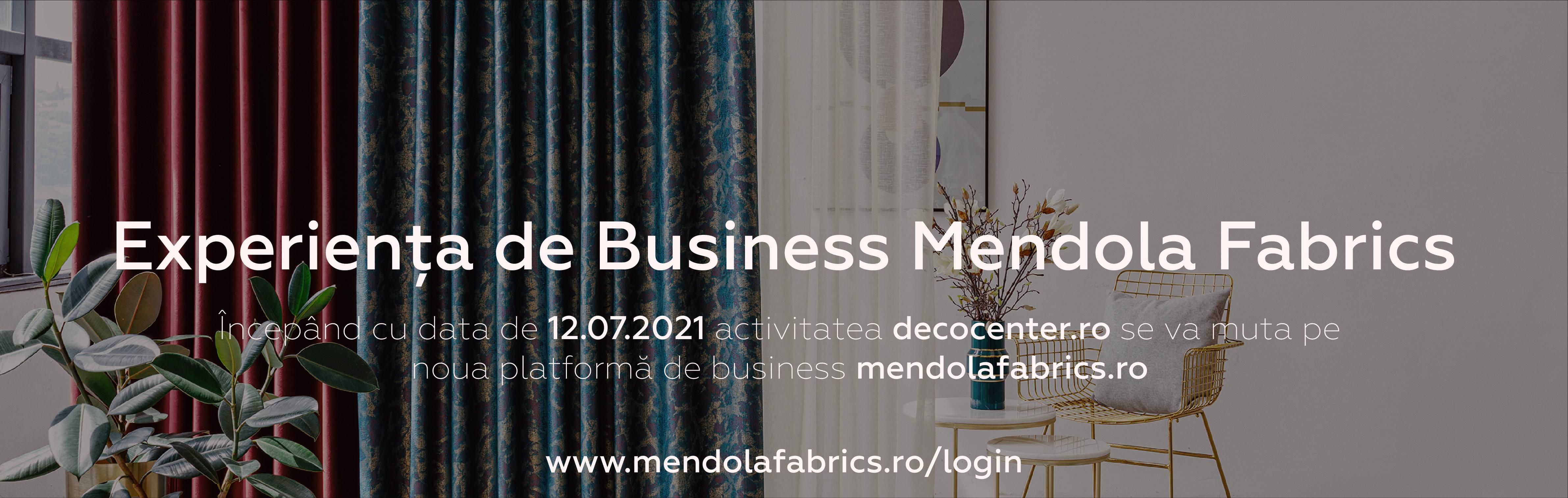 Noua experienta Mendola Fabrics B2B