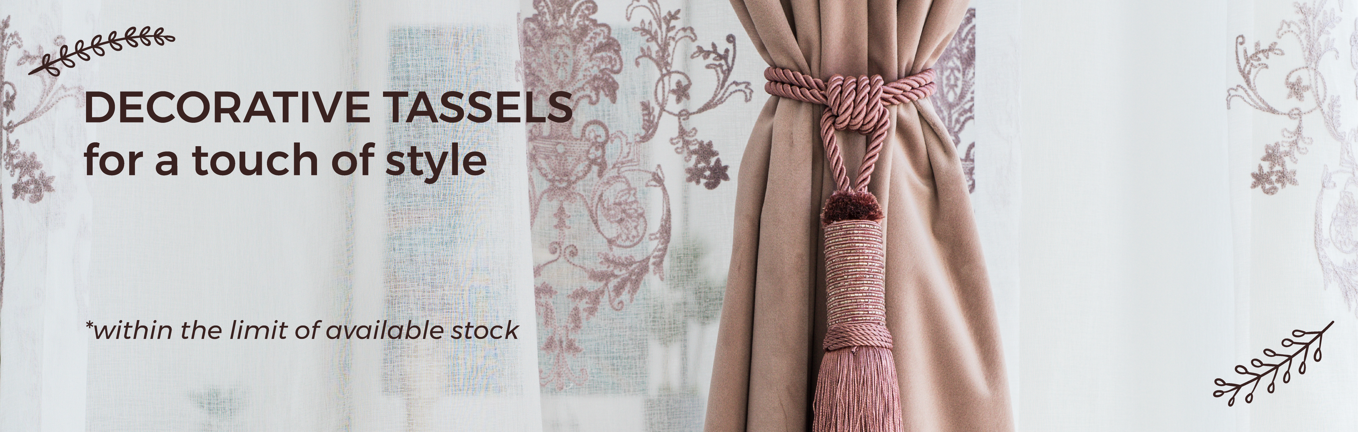 Tassels at Special Prices