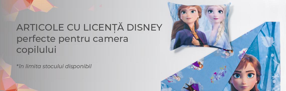 Articole cu licenta Disney in promotie