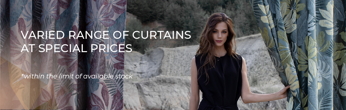 Promotions of the Month - Curtains
