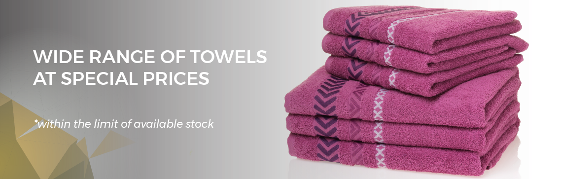 Promotion of the Month - Towels on Sales