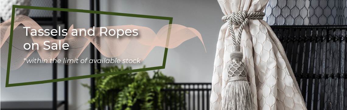 July's Promotion - Tassels Ropes