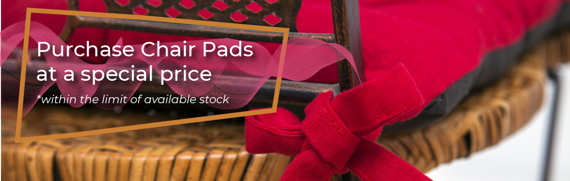 July's Promotions - Chair Pads