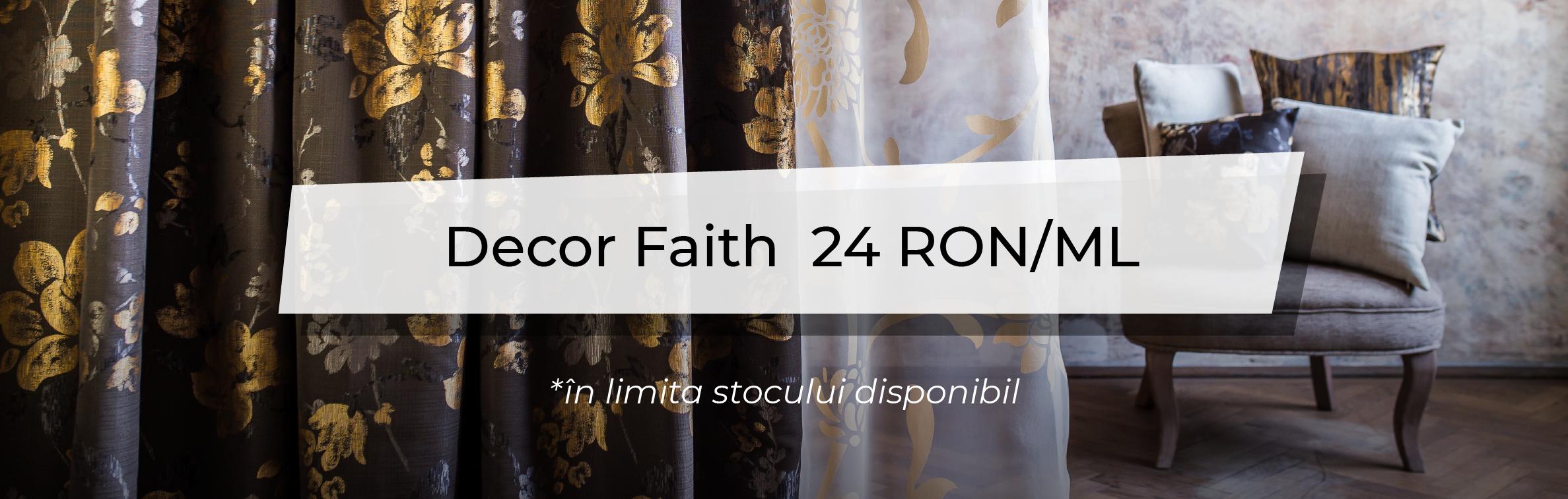 Promotiile Lunii - Decor Faith