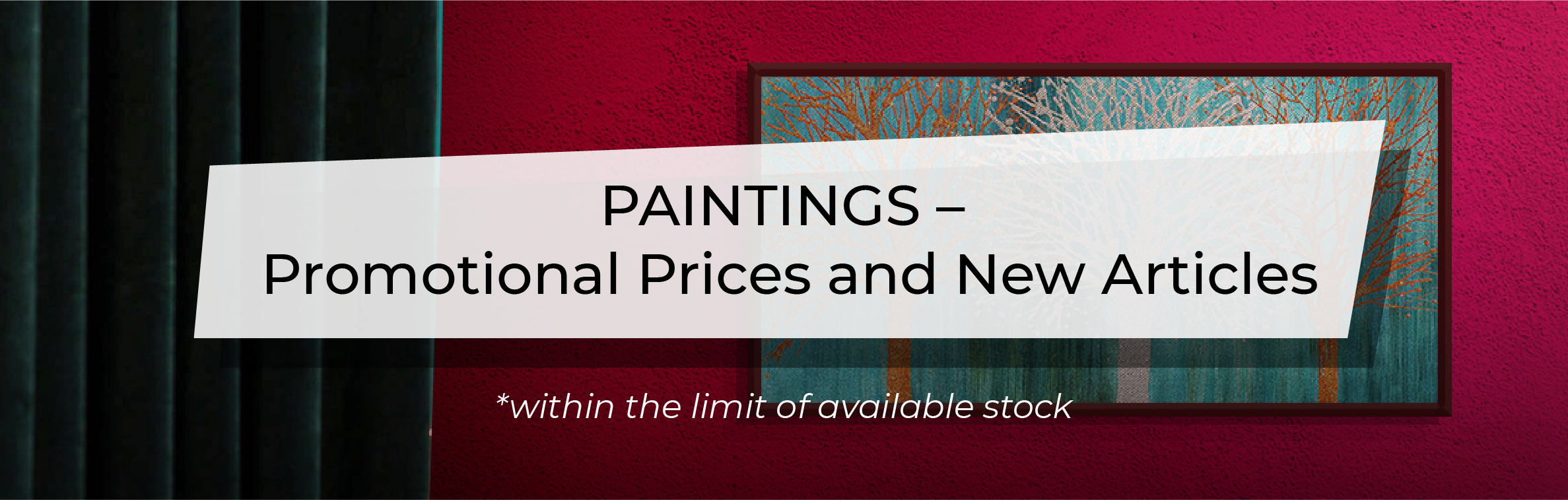 December Promotion - Paintings