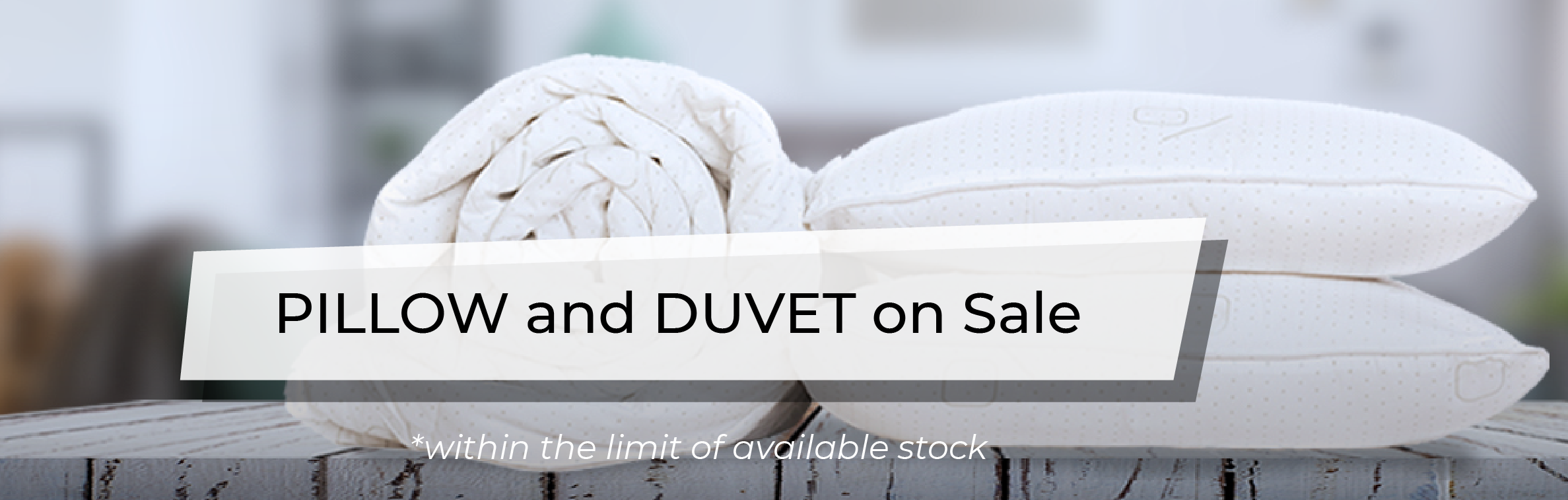 December Promotion - Pillow and Duvet