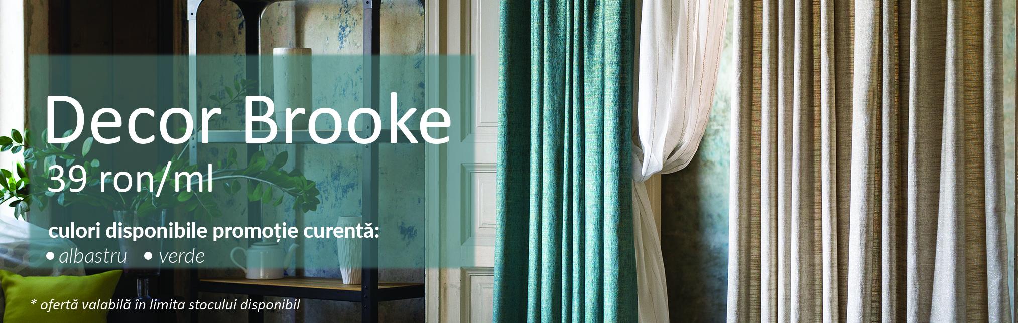 Promotiile Lunii - Decor Brooke 39 ron/ml