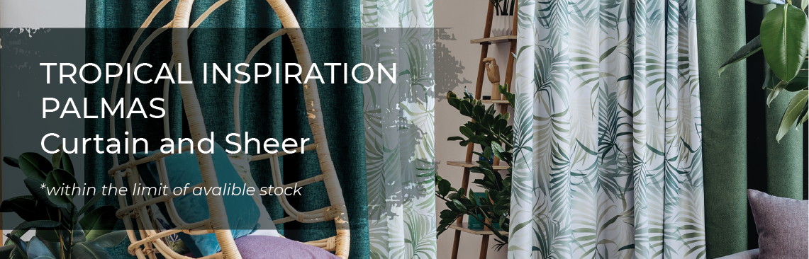 May Promotions - Tropical Inspiration