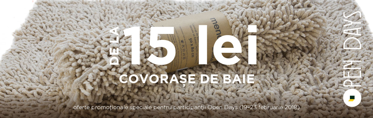 Open Days - covorase baie